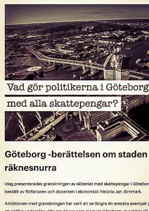 Göteborg -berättelsen om staden som blev en räknesnurra