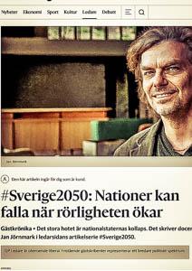 #Sverige2050: Nationer kan falla när rörligheten ökar
